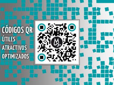 Código QR personalizado para la diseñadora gráfica freelance de Barcelona, Sara Mompart