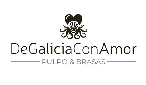 Diseño de logo de restaurante gallego y pulpería