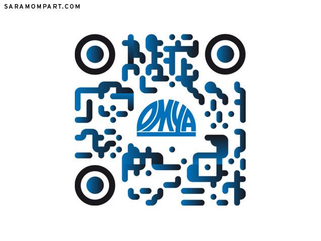 Diseño personalizado de código QR para empresa