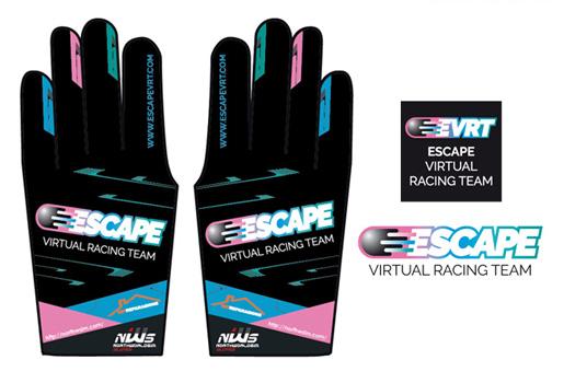 Diseño de logotipo para equipo de carreras de coches virtuales