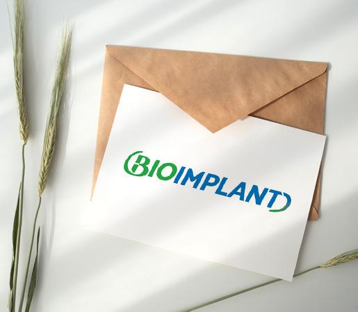 Diseño de logotipo para distribuidor de implantes