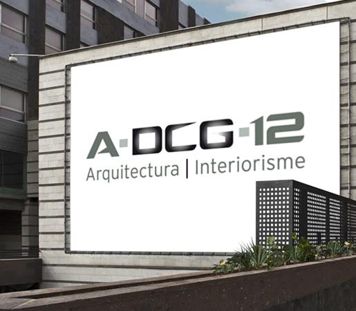 Logo diseñado para estudio de arquitectura e interiores
