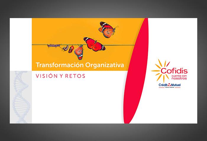 Diseño de presentación para COFIDIS ESPAÑA.