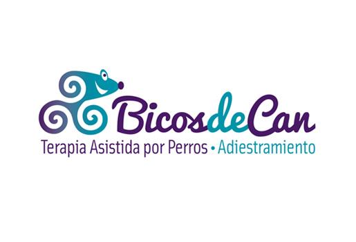 Diseño de logotipo para freelance de terapias con perros