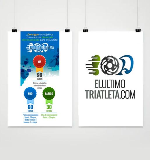 Diseño de logo e imagen para tratleta