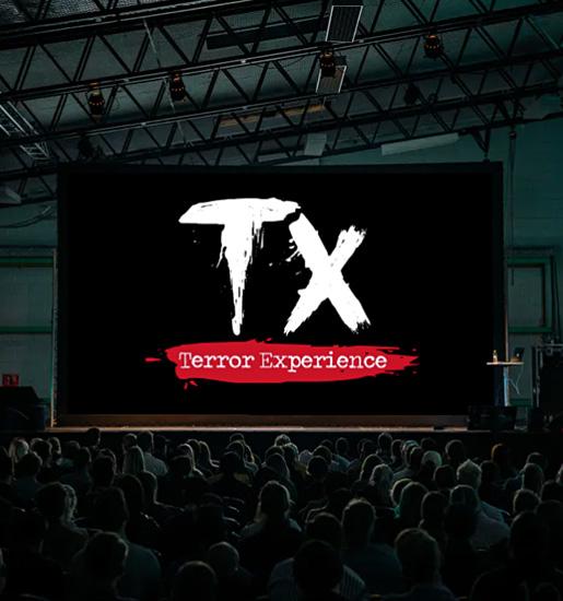 Diseño de logo para túnel del terror