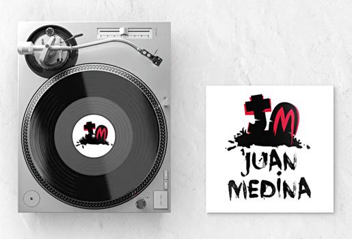 Diseño de logotipo marca personal DJ