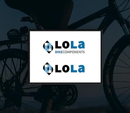 Diseño de logo para empresa de componentes de bici