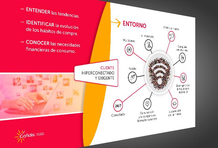 Diseño en PPT de presentación para COFIDIS.