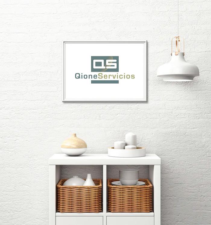 Diseño de logo para servicios inmobiliarios y home stage