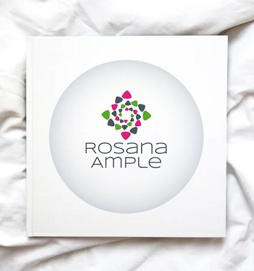 Rosana Ample > Logo para marca personal de escritora.