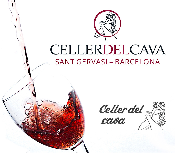 CELLER DEL CAVA > Digitalización de logotipo y anagrama existente, con actualización de tipografía y colores corporativos.