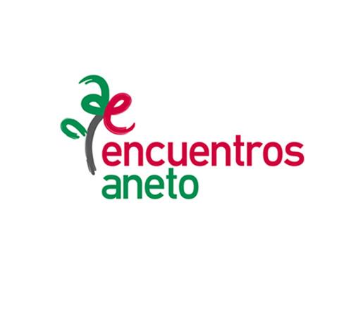 Encuentros Aneto > Diseño de logotipo para Asociación no lucrativa de Huesca-Madrid.
