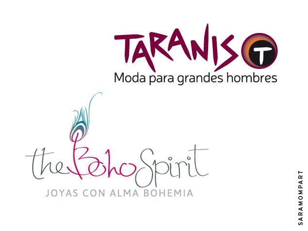 Logotipos con diseño CASUAL