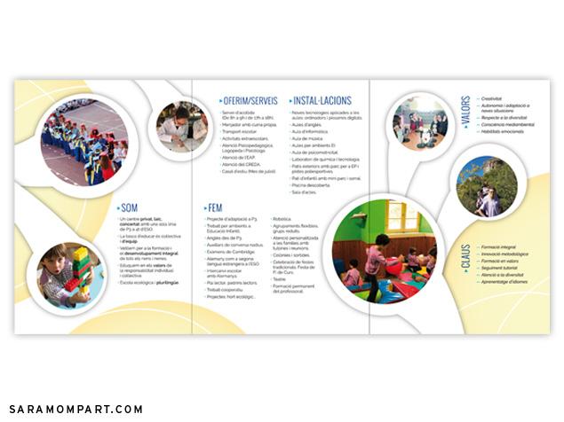 Diseños especiales para puertas abiertas en colegios