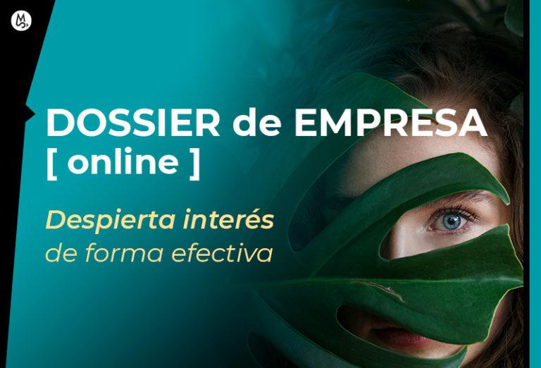 Diseño de dossier online para empresa