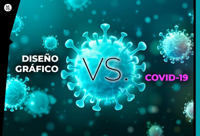Diseño gráfico en época de virus y COVID-19
