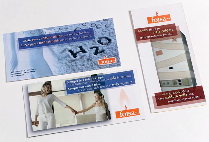 Flyers y folletos para empresa servicios climatización