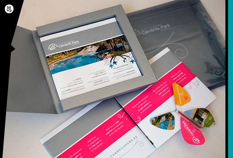 Como diseñar folleto para empresa o negocio