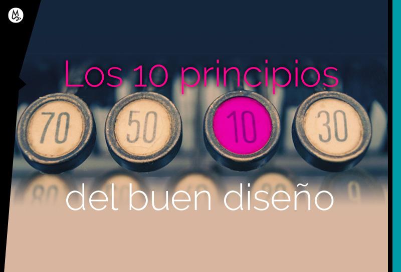 Diez reglas o princios del buen diseño gráfico