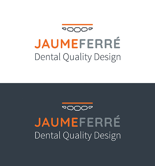 JAUME FERRÉ > Diseño de logo para laboratorio de prótesis dental.